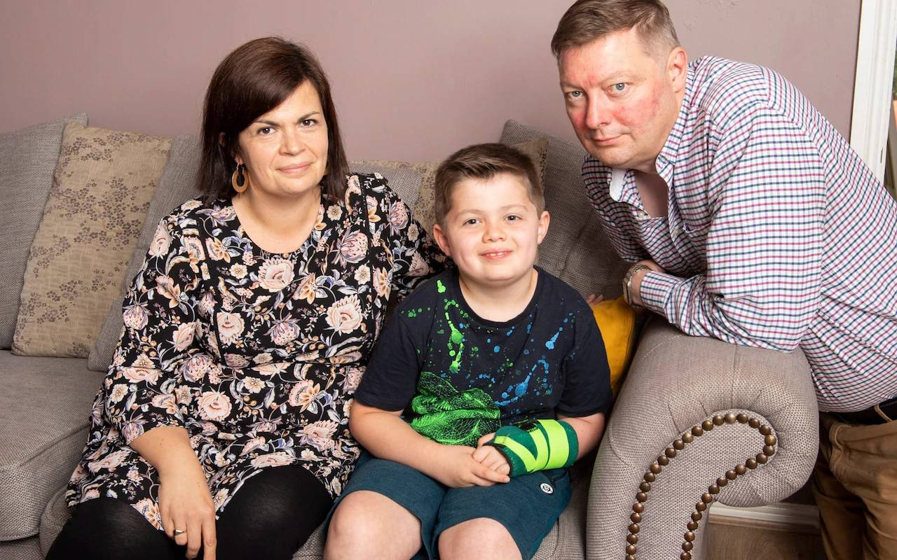Family of brain-damaged boy sue NHS after meningitis was 'dismissed as ear infection'