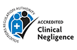 SRA accredited for clinical negligence