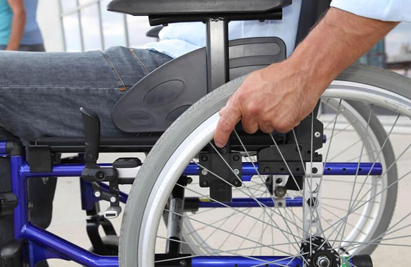 wheelchair accident victim