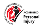 SRA accredited for personal injury